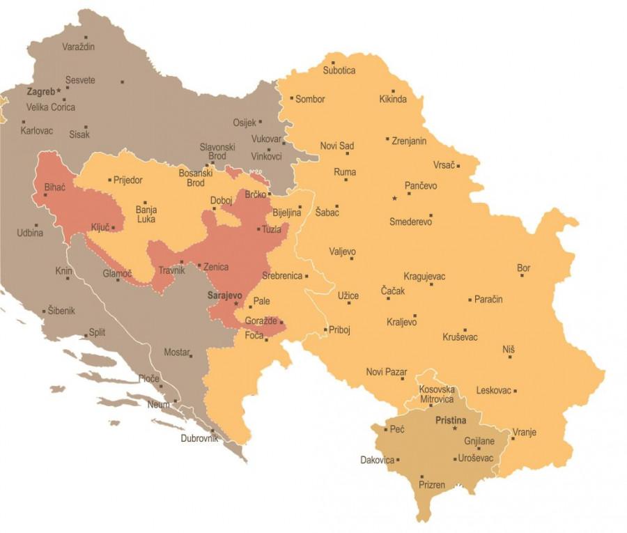 Republika Putinova Nova Mapa Balkana Srbiji Se Pripaja