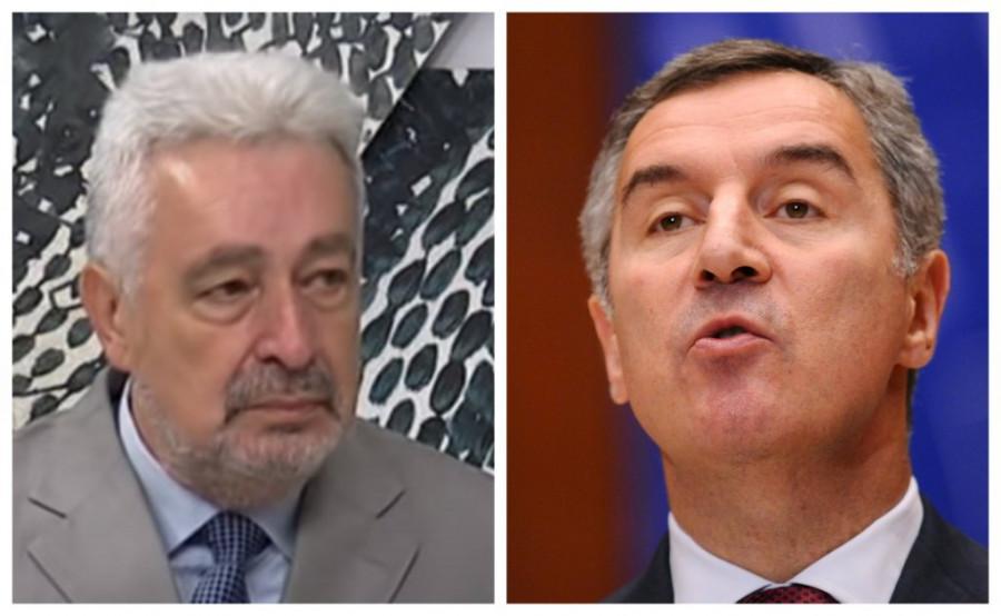 Milo Đukanović i Zdravko Krivokapić